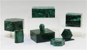 7 European Malachite Desk Articles