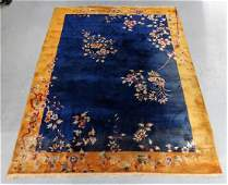 C.1920 Chinese Republic Period Art Deco Rug