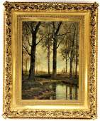 European Post Impressionist OC Landscape Painting
