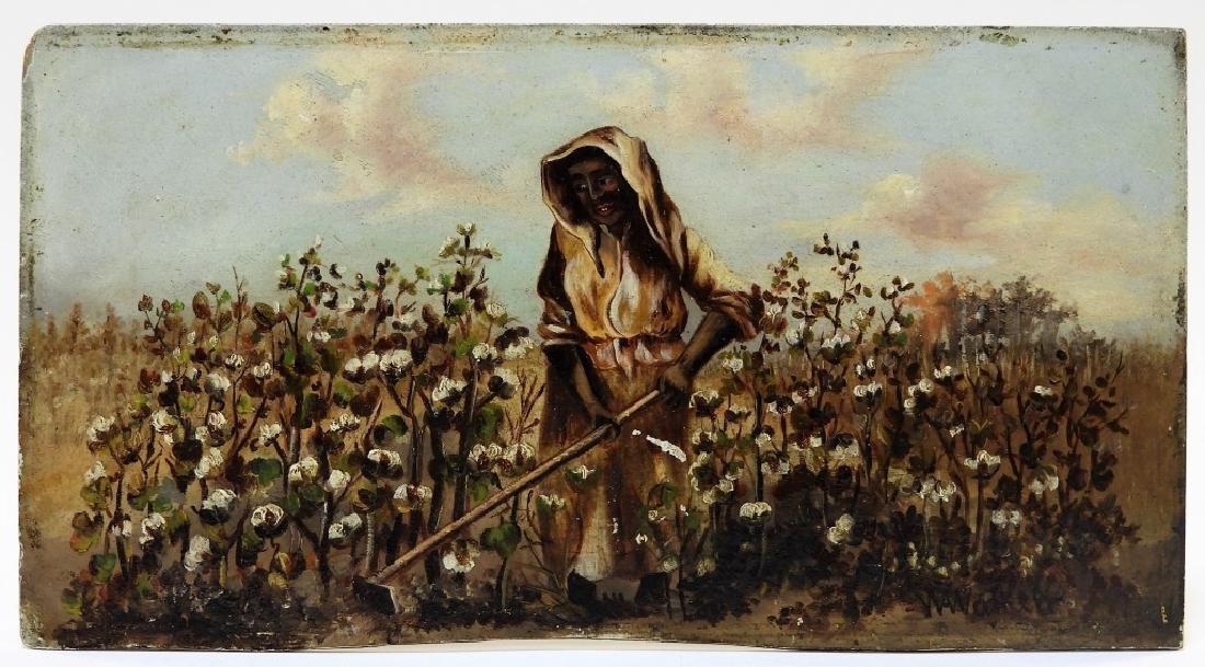 William Aiken Walker Female Sharecropper Painting