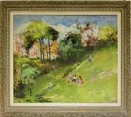 Laszlo Csupor OC Impressionist Landscape Painting
