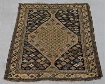 C.1900 Tribal Caucasian Oriental Geometric Carpet