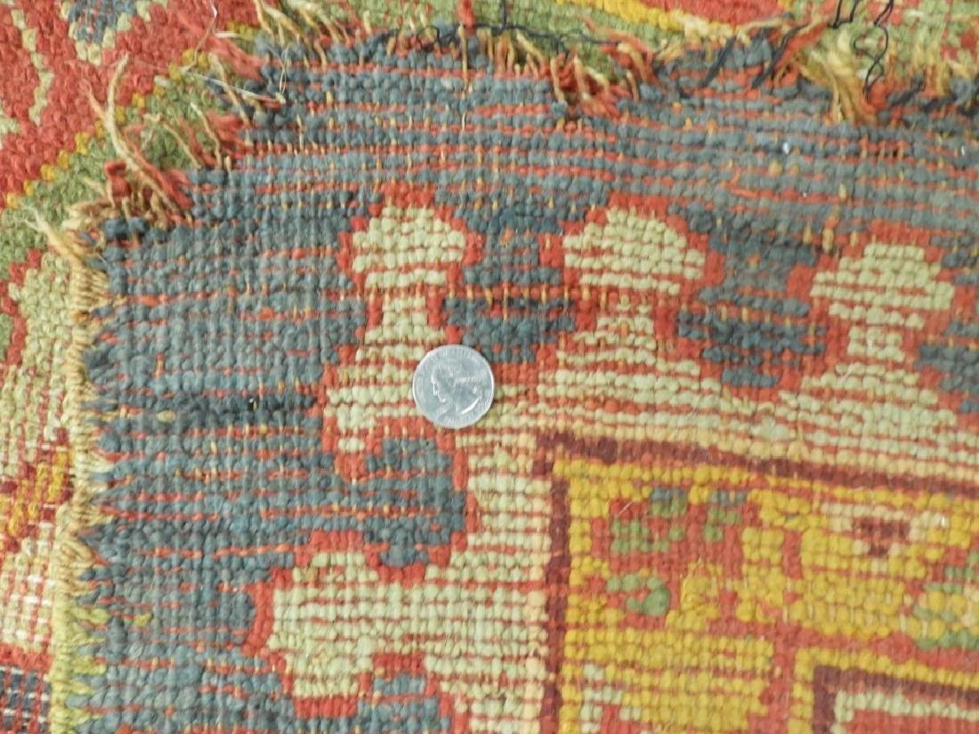 C.1900 Oriental Turkish Oushak Carpet Rug - 11