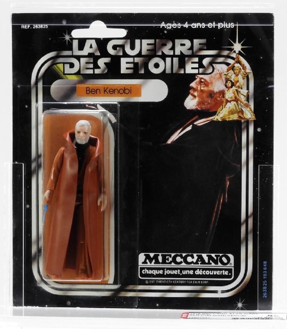 1978 Meccano Star Wars 20 Back Ben Kenobi AFA 85