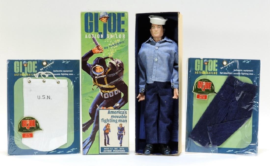 Early 1964 Hasbro G.I. Joe Action Sailor Soft Head