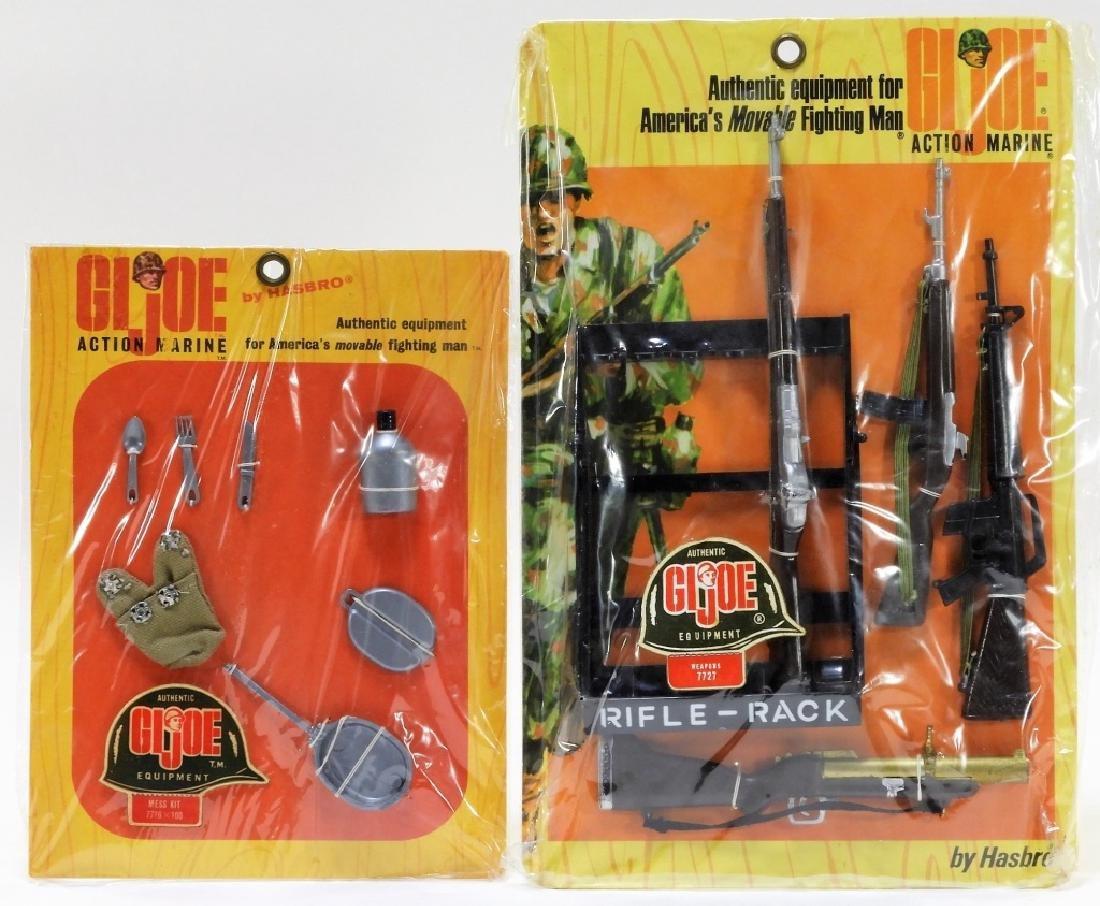 RARE Hasbro 1967 GI Joe Action Marine Rifle Rack