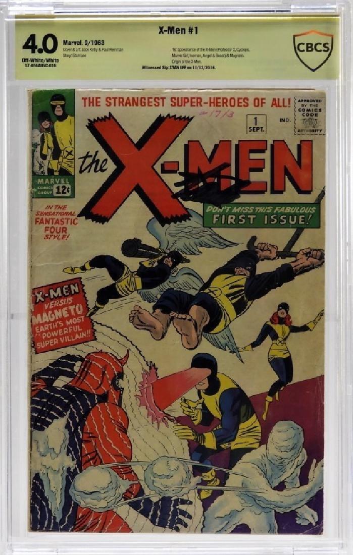 Marvel Comics X-Men No.1 CBCS Gold 4.0 Stan Lee