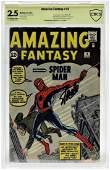 Marvel Comics Amazing Fantasy No.15 CBCS Gold 2.5