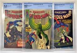 Marvel Comics Amazing Spider-Man No.43 44 48 CBCS