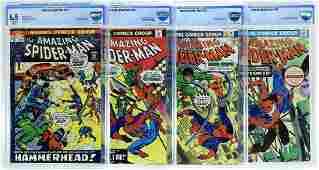 4 CBCS Graded Marvel Comics Amazing Spider-Man