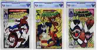 Marvel Amazing Spider-Man Carnage No.361 362 363