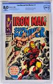 Marvel Comics Iron Man  SubMariner No 1 CBCS 80