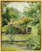 Stacy Tolman OC Impressionist Garden Landscape