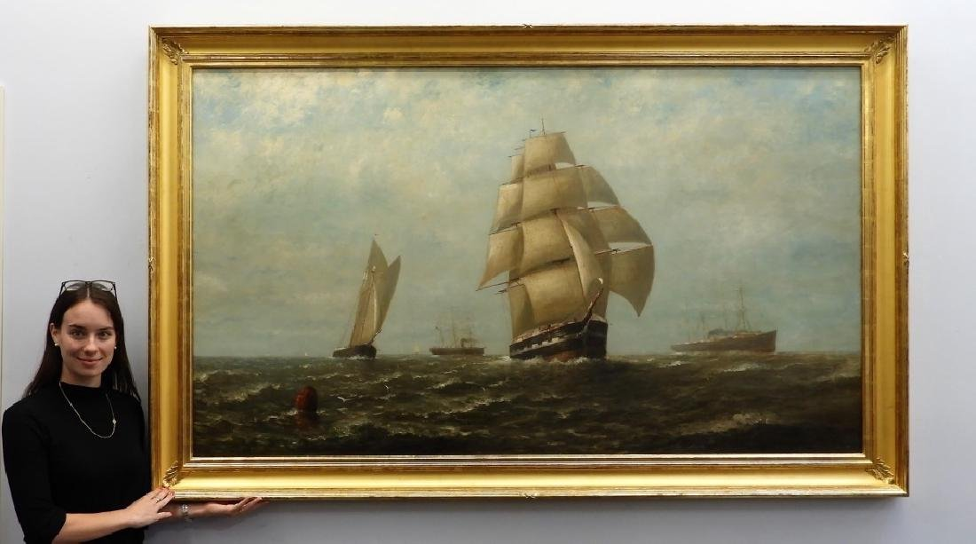 LG Wesley Webber O/C Maritime Seascape Painting