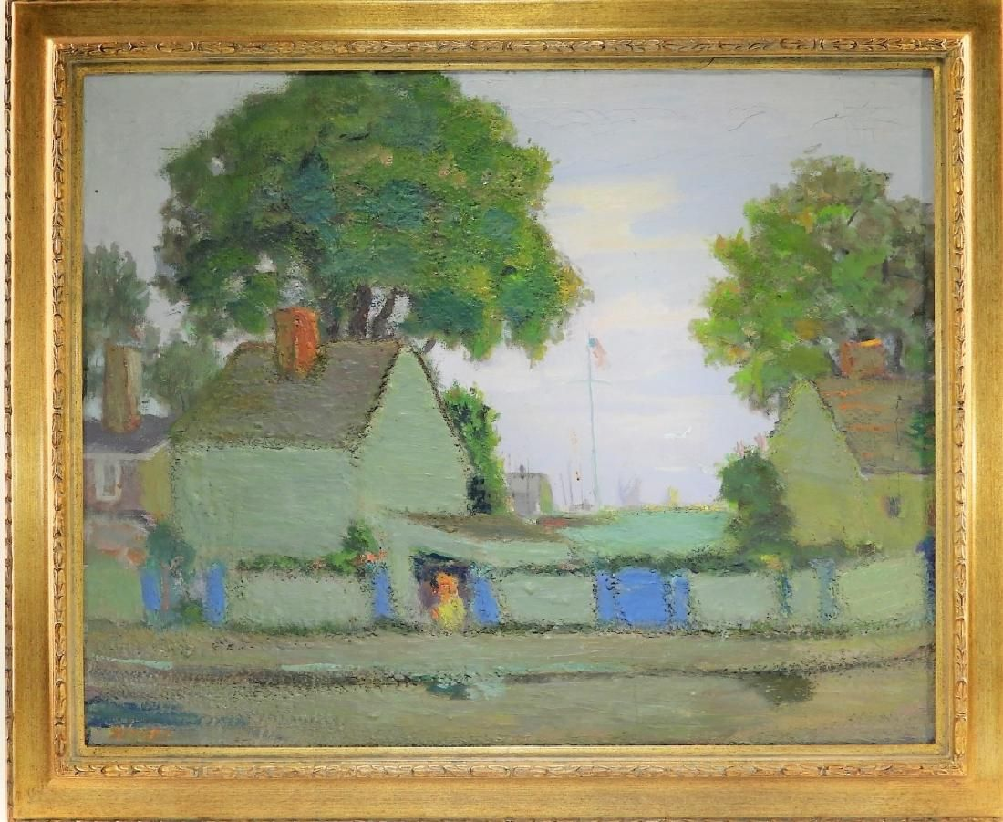 Joseph Rimini O/C Impressionist Rockport Landscape