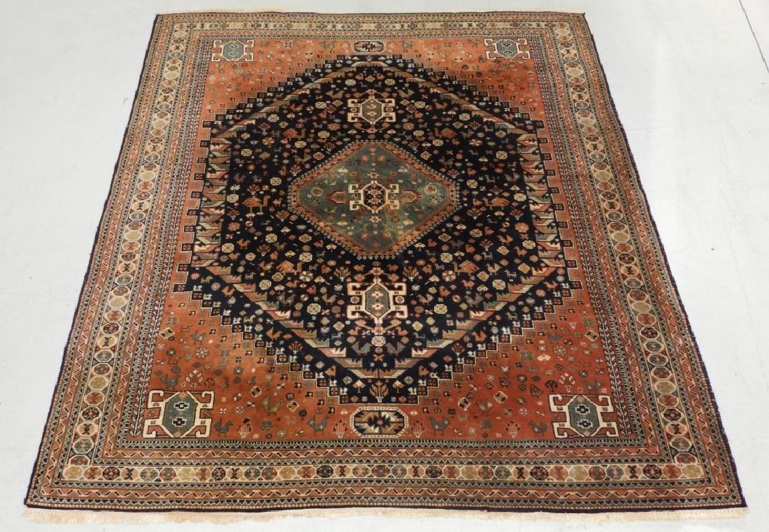 C.1920 Oriental Persian Tribal Design Carpet Rug