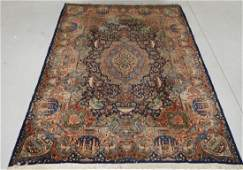 LG Persian Kerman Pictorial Room Size Carpet