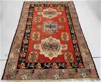 Persian Kilim Geometric Wool Carpet Rug