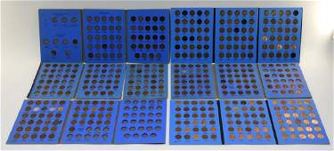 United States Indian  Lincoln Cent Coin Grouping