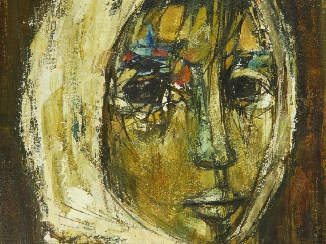 Ruth Schloss Figurative Social Realist Painting - 2