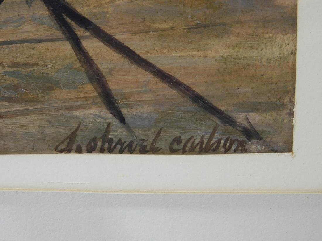 Sven Carlson Nude Model Studio Interior Painting - 7