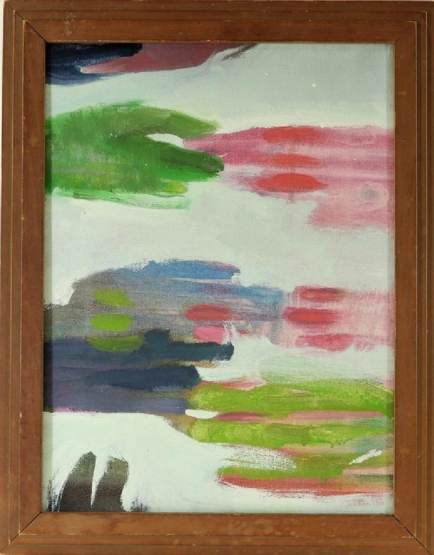Michael Mazur Abstract Hands A/C Painting