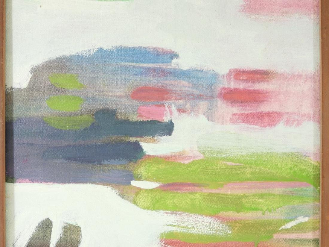 Michael Mazur Abstract Hands A/C Painting - 2