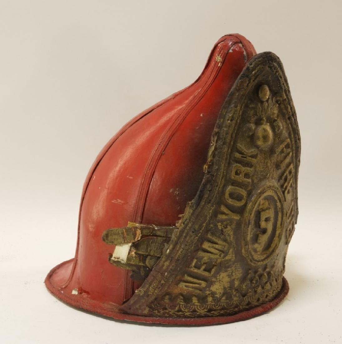 New York City Fire Department #5 Parade Helmet - 2
