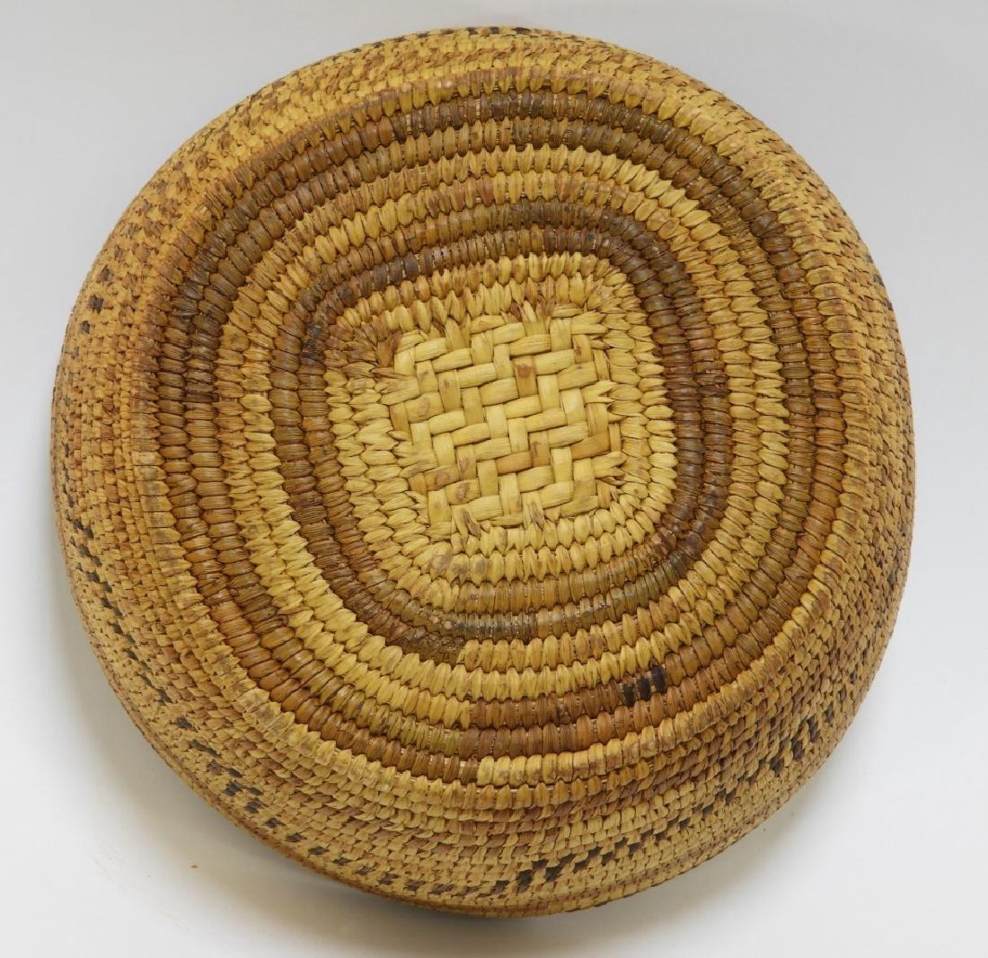 Native American Plains Indian Basket - 5
