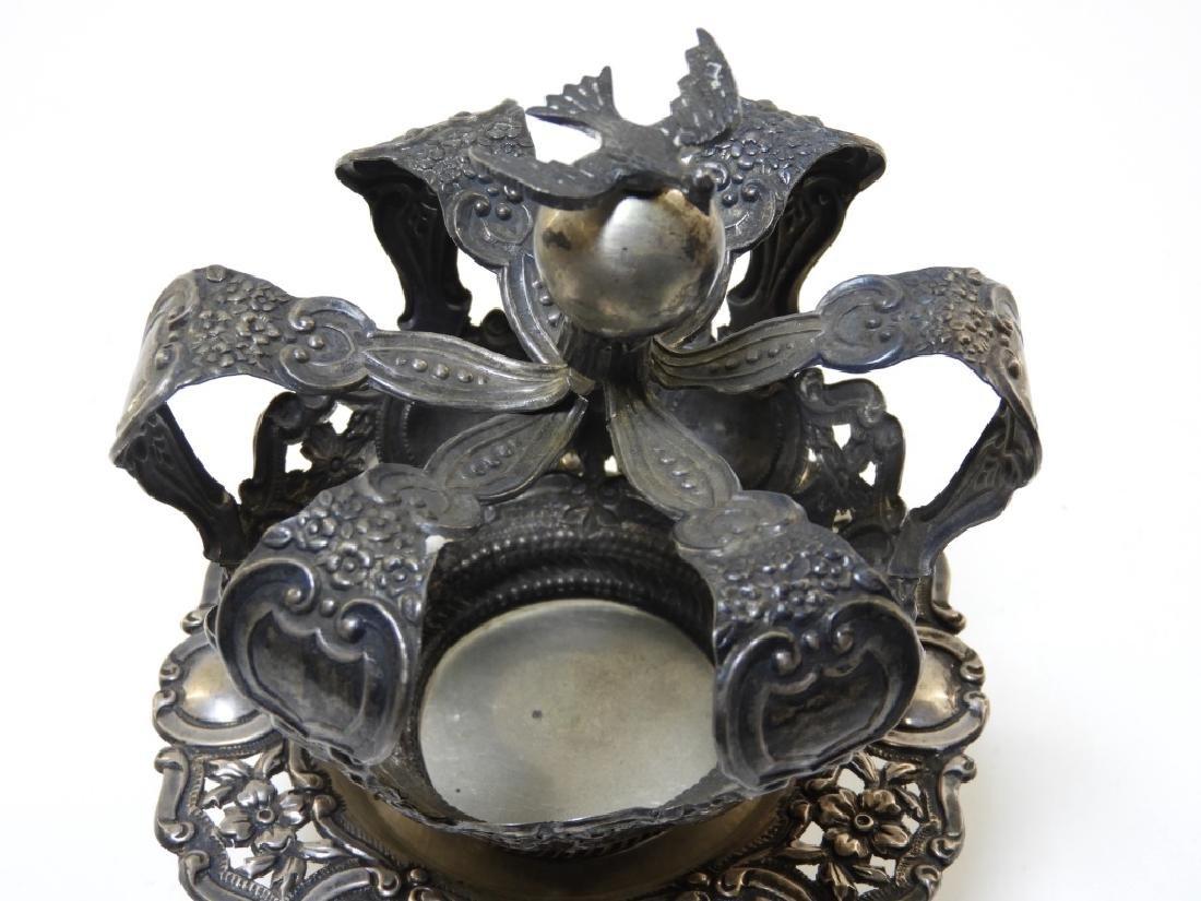 19C. Portuguese Silver Crown & Paten - 2