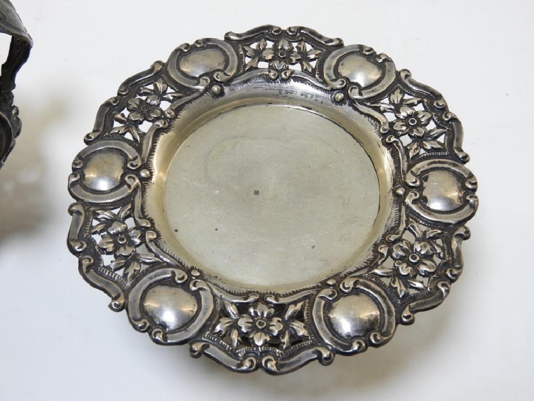 19C. Portuguese Silver Crown & Paten - 4