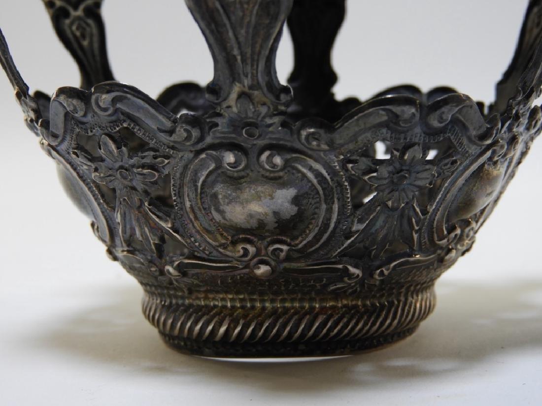 19C. Portuguese Silver Crown & Paten - 5