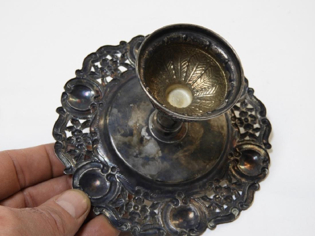 19C. Portuguese Silver Crown & Paten - 6