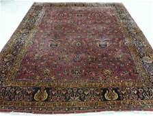 Antique Persian Keshan Carpet Rug