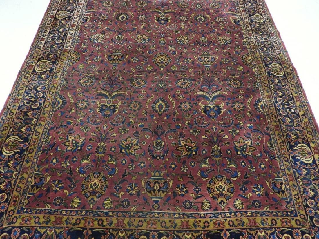 Antique Persian Keshan Carpet Rug - 2