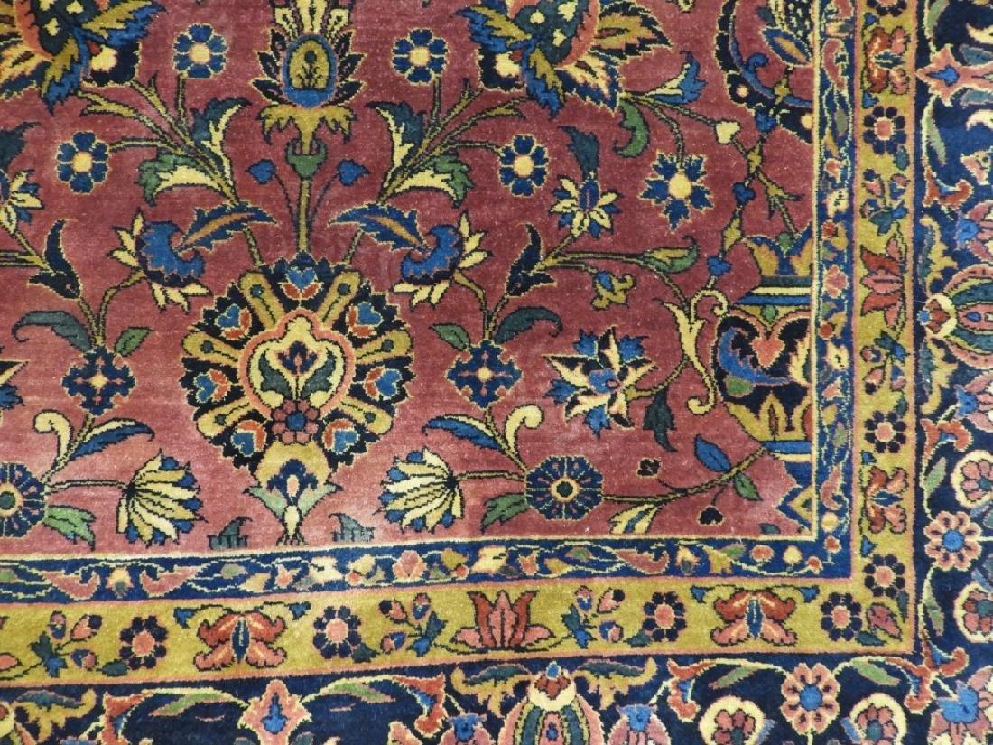 Antique Persian Keshan Carpet Rug - 3