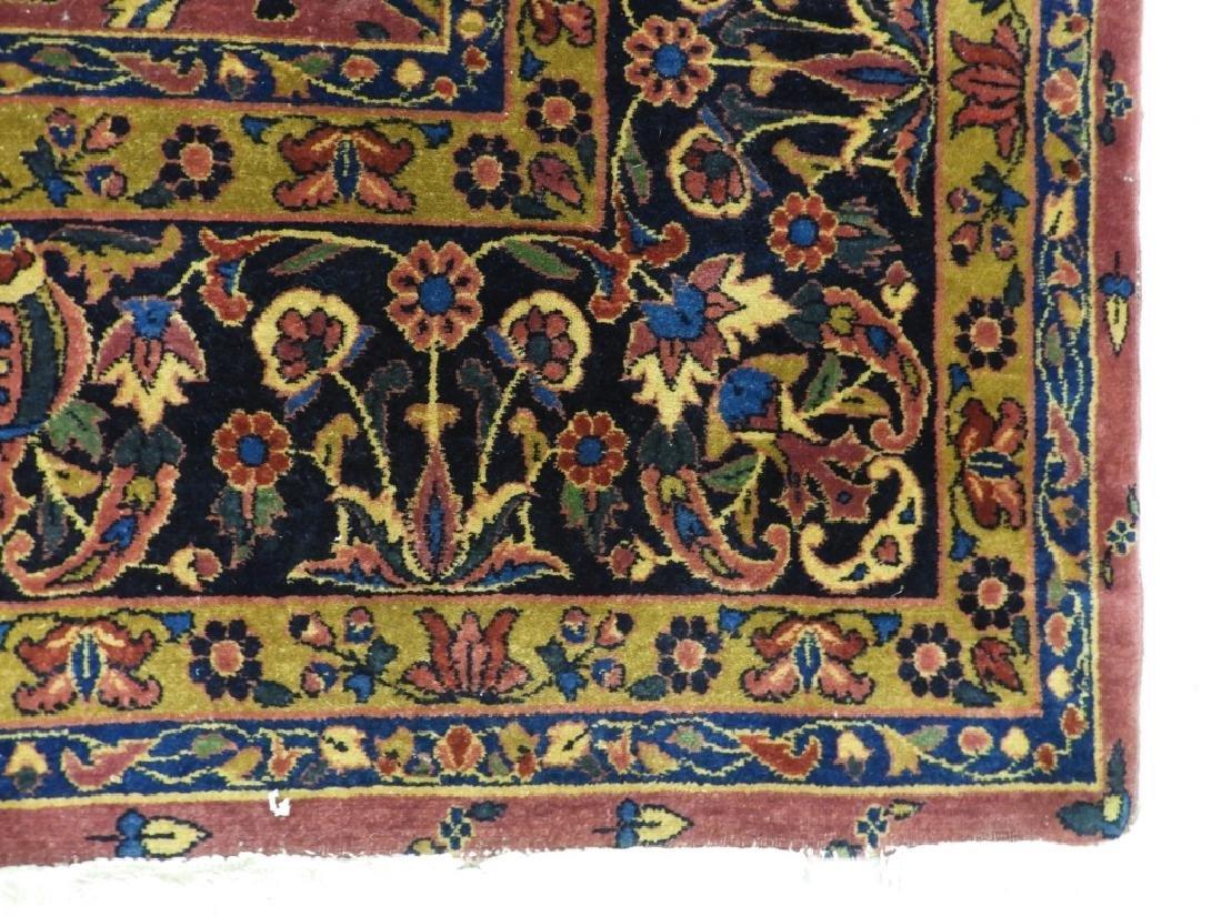 Antique Persian Keshan Carpet Rug - 4