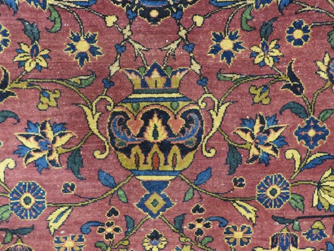 Antique Persian Keshan Carpet Rug - 5