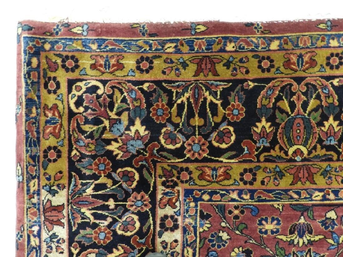 Antique Persian Keshan Carpet Rug - 7