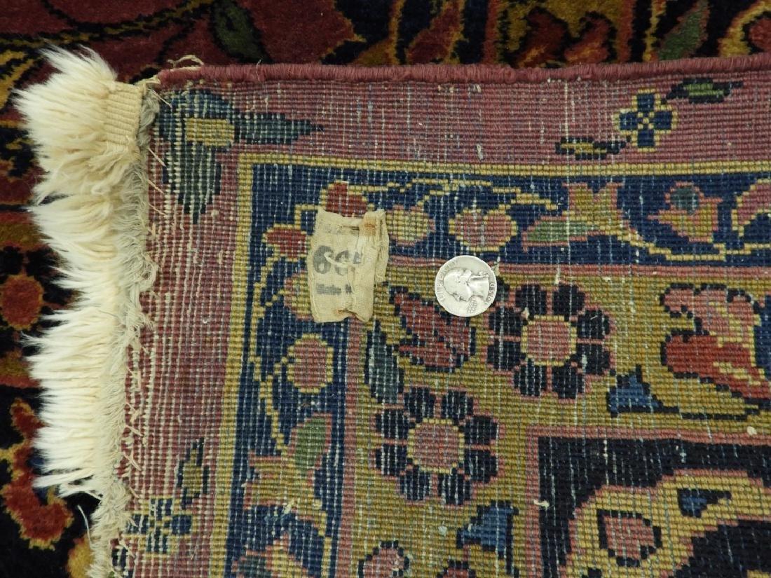 Antique Persian Keshan Carpet Rug - 8