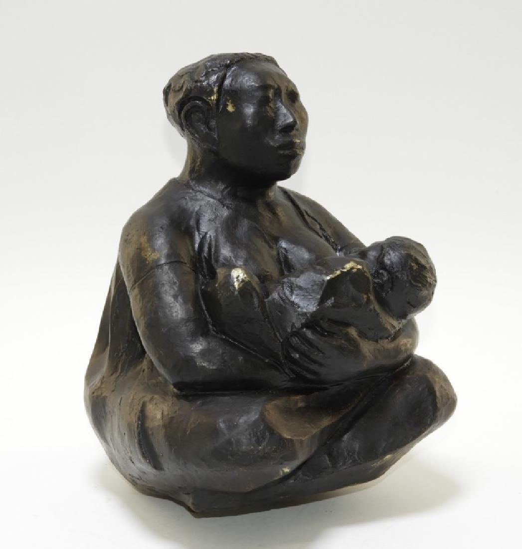 FINE Jose Luis Cuevas Figurative Bronze Sculpture