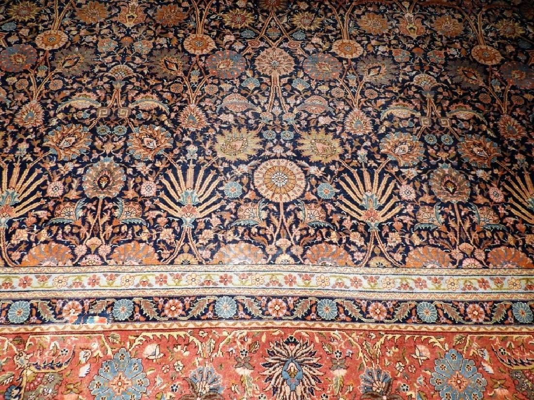 LARGE 19C. Persian Oriental Palace Size Rug - 11