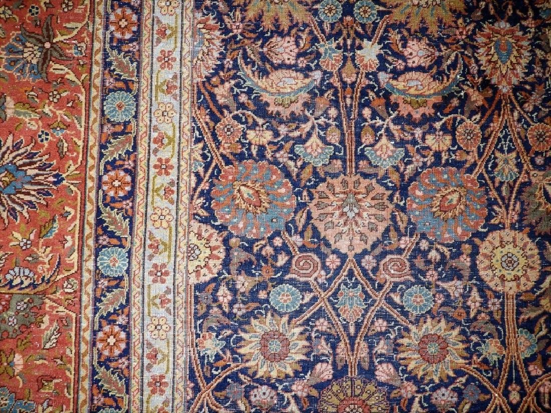 LARGE 19C. Persian Oriental Palace Size Rug - 12