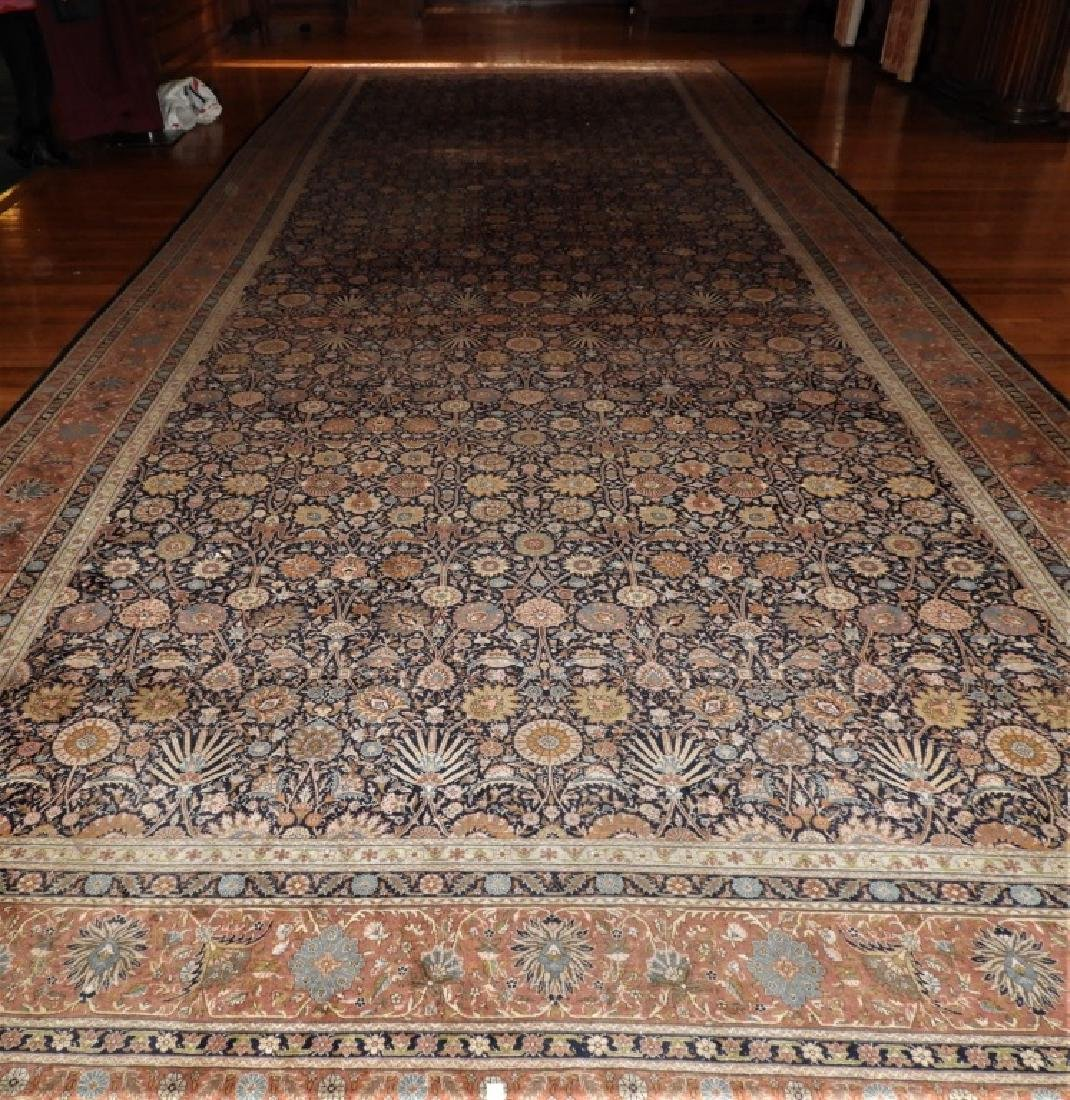 LARGE 19C. Persian Oriental Palace Size Rug
