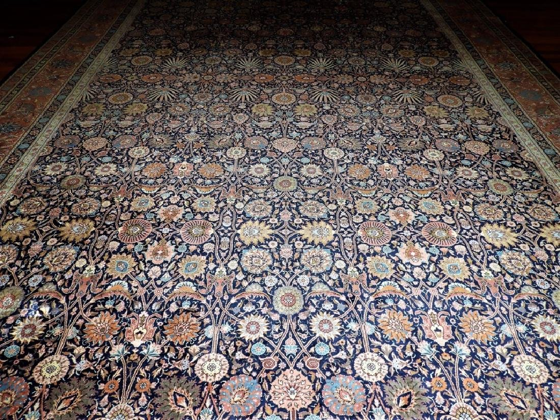 LARGE 19C. Persian Oriental Palace Size Rug - 3