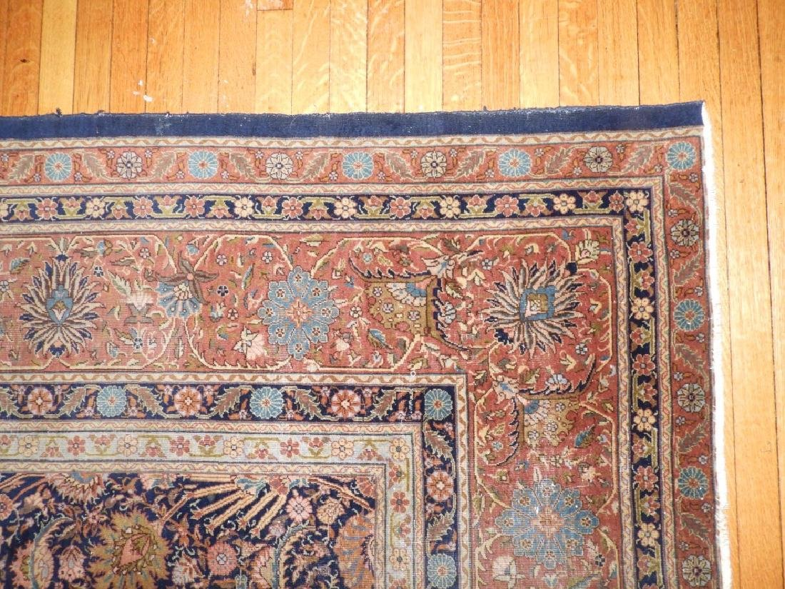 LARGE 19C. Persian Oriental Palace Size Rug - 5