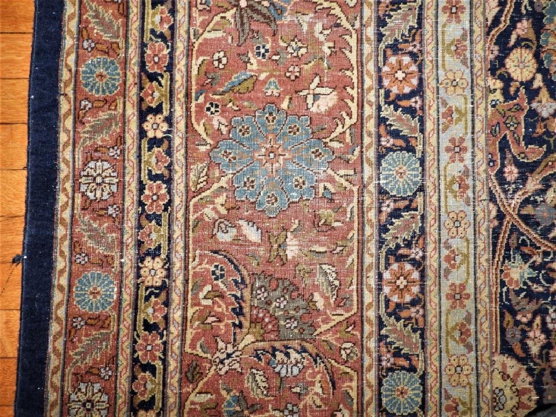 LARGE 19C. Persian Oriental Palace Size Rug - 9