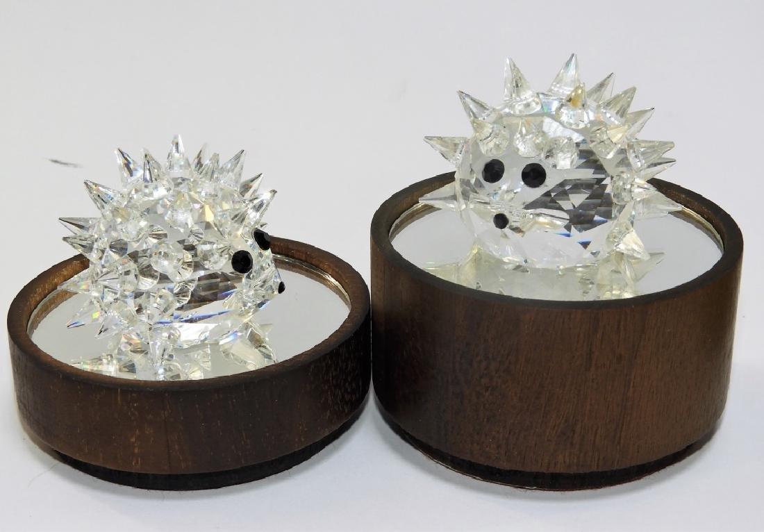 Group 6 Austrian Swarovski Crystal Figures - 2