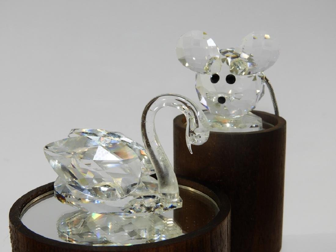 Group 6 Austrian Swarovski Crystal Figures - 4