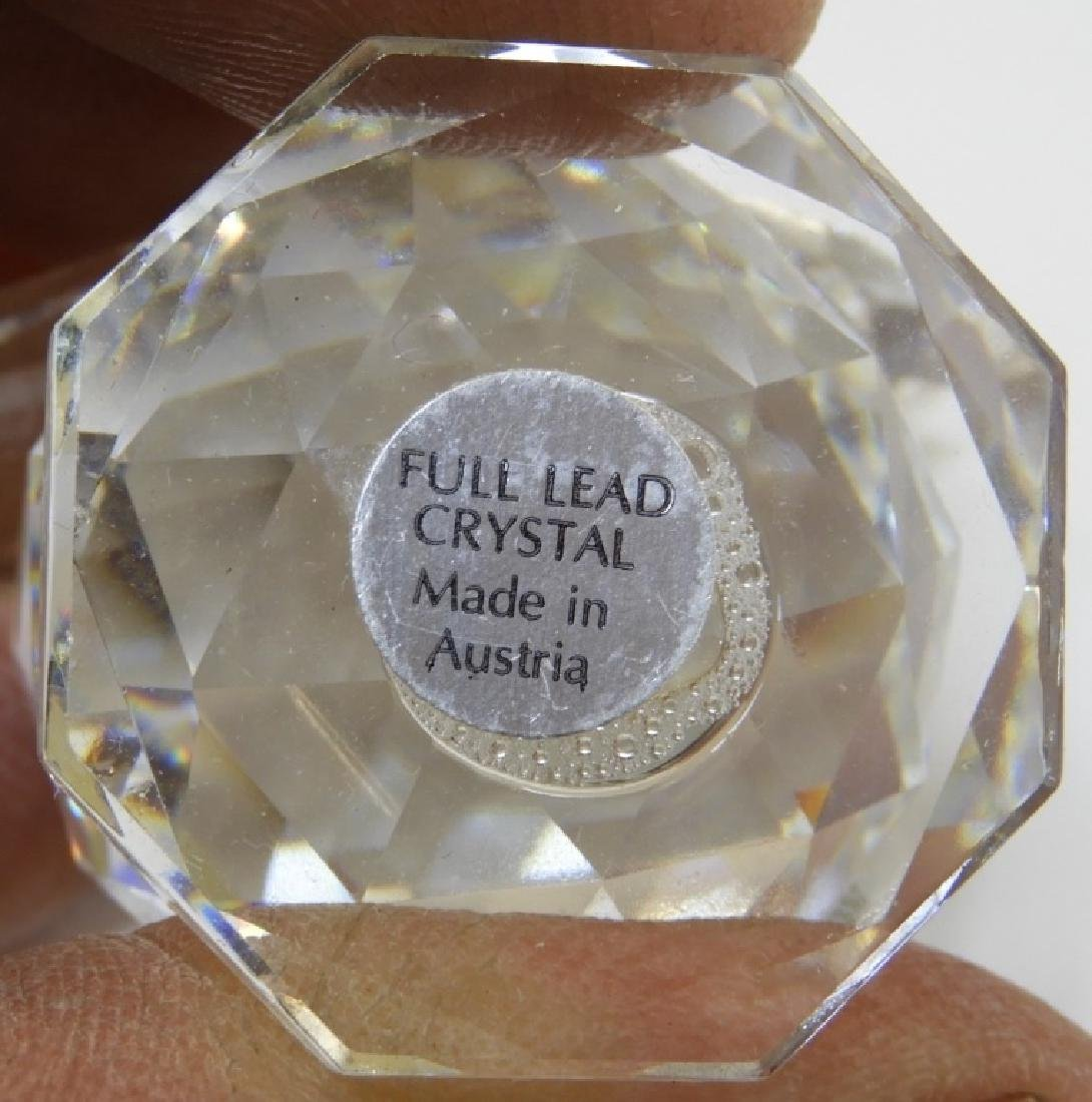 Group 6 Austrian Swarovski Crystal Figures - 5